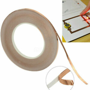 Selbstklebend Kupferband Schneckenband Abschmirband Kupferfolie 3/10/20mmx30m N