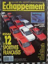 ECHAPPEMENT 1991 AX GTI + BX 16S / 205 RALLYE + GTI + 309 GTI 16 + 405 Mi 16