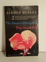 Aldous Huxley: The Doors of Perception & Heaven and Hell 1963, First Edition