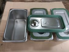 Cambro Upcs180 Stainless Pans Lids And Seals 3