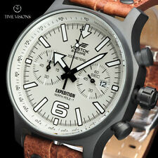 Vostok-Europe LE Expedition North Pole-1 Quartz Chronograph Strap Watch 5954200