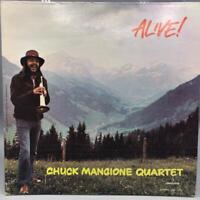 Vintage Chuck Mangione Quartet Alive Album Vinyl Record LP