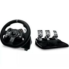 LOGITECH Force G920 Xbox One & Driving PC Racing Rueda & Pedales-Negro