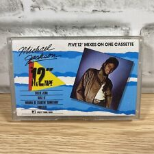 "Michael Jackson The 12"" Tape Cassette Mixes"