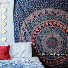 Double Hippie Tenture Tapisserie Murale Mandala Indien Couvre-lit Décoration Art