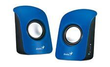 Genius SP-U115 USB Powered Stereo Speakers (Blue)