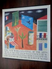 David Hockney Detal From Zanzibar With Postcards & Kiosk