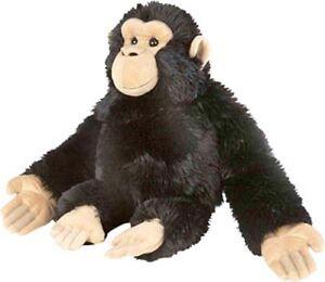 NEW Wild Republic PLUSH SOFT TOY 82307 Cuddlekins Chimp Chimpanzee Monkey 51cm