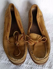 Vintage Timberland Leather Moccasin Women's Girl's  Casual Shoes USA Size 9.5 M