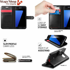 Spigen Wallet S Housse Portefolio pour Galaxy S7 - Noir
