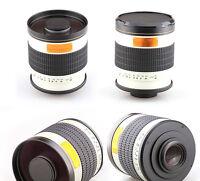 500mm f/6.3 Tele Mirror Lens for Sony E-mount NEX 5N 7 C3 5 3 A7R Mark II Camera