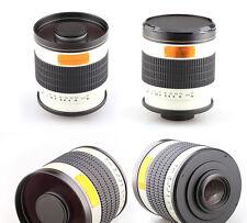 500mm f/6.3 Tele Mirror Lens for Sony NEX A7 A7R NEX-3 NEX-5 Camera & NEX-VG10