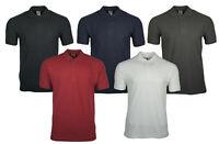 FRUIT OF THE LOOM Herren Poloshirt Polo Shirt Polokragen