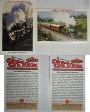 WILLS' *BRITAIN'S STEAM RAILWAYS* 1998, Nos.13 & 16 *VG*