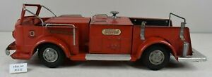 "(Lot #1332) Vintage Doepke Model Toy Fire Pumper Truck 18.5"" Long"