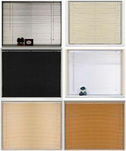 "Pvc Blinds Window Venetian Blind white Easy Fit Home Office 60x150cm24""x59""appro"