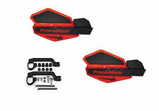 Powermadd Star Series Handguards Guards Mount Kit Red / Black Yamaha ATV