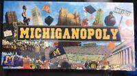 MICHIGANOPOLY Michigan MONOPOLY collector's edition Collegiate Board Game New
