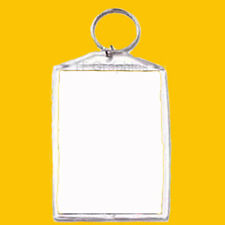Design Your Own Personalised Photo Custom Jumbo  Keyring Insert Size 51mm x 76mm