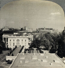 Keystone Stereoview White House, Washington, D.C. From RARE 1200 Card Set Type A