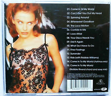Kylie Come Into My World, Unique, BEST 2003, 15 Track, Video, Photo Gallery hits