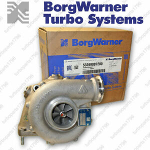 53269887200 Volvo Penta-Schiff Turbolader K26 -7200 Borg Warner 3,6 Liter 258 Ps