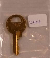 Master Lock Key # 2402 Replacement Padlock Amusement Vending Juke Slot Arcade