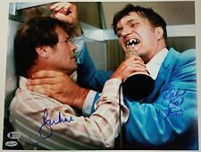 ROGER MOORE RICHARD KIEL Signed James Bond 11x14 Photo LE /007 ~Beckett BAS COA
