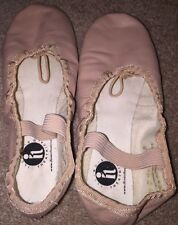 Girls Pink Ballet Dance Shoes