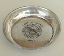 EASTERN DOG CLUB STERLING 1962 BEST OF BREED AWARD DISH