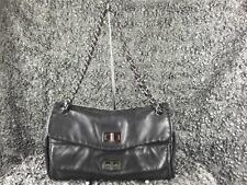 AUTHENTIC Chanel Black Lambskin Double Mademoiselle Flap Handbag