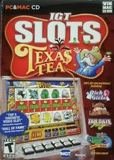 IGT Slots Texas Tea 2009 PC MAC Games Gambling Casino Slot Machines