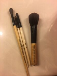 Authentic BOBBI BROWN brushes Eye Blender, Eye Liner, Eye Smudge & Bronzer