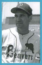Nini Tornay (Portland) 1958 Vintage Minor League Baseball Postcard