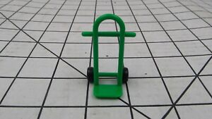 Rokenbok System Green barrel cart hand truck dolly