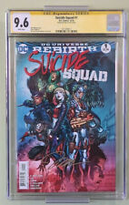 SUICIDE SQUAD REBIRTH  #1 CGC Signature Series 9.6  Jim Lee