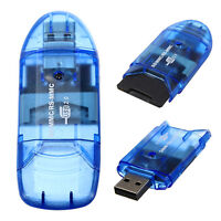 High Speed USB Memory Card Reader Writer Adapter for MMC SD SDHC TF UP To 64GB·