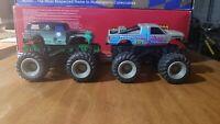 1990 Galoob Motorized Battery Powered Monster Truck GRAVE DIGGER/KING KRUNCH