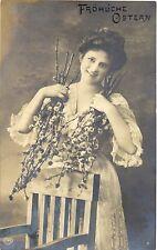 Pasqua, DAMA, Foto AK, 1909