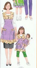 Mommy and Me and Doll Apron Sewing Pattern Simplicity 3746 Cookie Baking Uncut