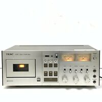Vintage TEAC A-650 Stereo Cassette Deck Made in Japan [HJ]