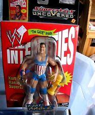 WWE Raw Uncovered Kurt Angle Action Figure Jakks Pacific 2002