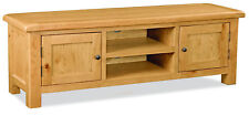 Oakvale Extra Large TV Unit / Media Stand / Widescreen Television Cabinet  150cm