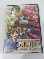 LOUIE EL GUERRERO DE LAS RUNAS SERIE ANIME MANGA 24 EPISODIOS 5 X DVD + EXTRAS