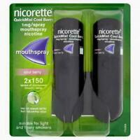 Nicorette QuickMist Cool Berry 2 X 150 - 1mg Mouth Spray Nicotine
