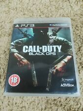 Call of Duty: Black Ops (Sony Playstation 3/PS3, 2010) w/ Manual
