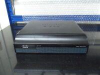 Cisco1941/K9 IS Router ipbasek9, securityk9 EHWIC-VA-DSL-A + ISM-VPN-19