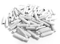White B-Connector Wire Splices for Low Voltage (100 Pack)
