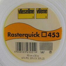 1m Rasterquick Viereck 453 Freudenberg 90cm breit Patchworkeinlage Näheinlage