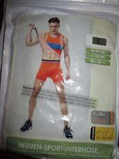 Panegy Men's Orange Compression Shorts Base Layer Sportswear Boxer Briefs Size L